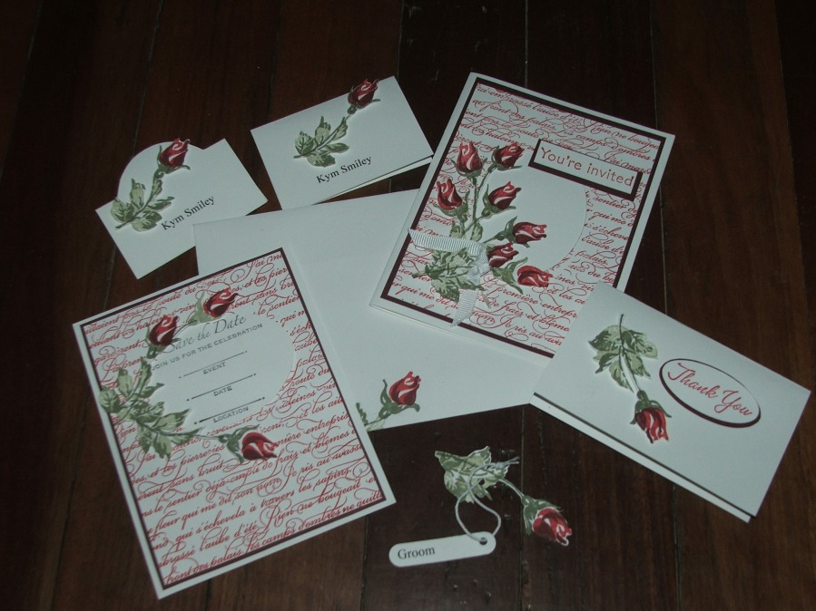 Stampin Up Wedding Invitations as great invitation template
